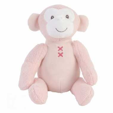 Baby speelgoed apen knuffel marly