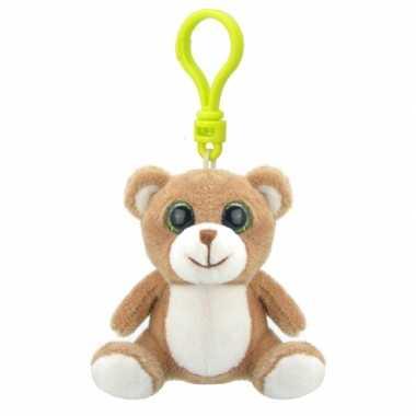 Baby speelgoed beer sleutelhanger knuffel