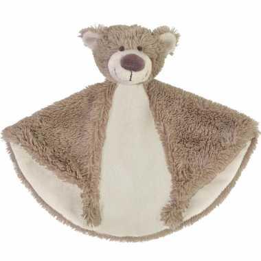 Baby speelgoed beren knuffeldoekje bella