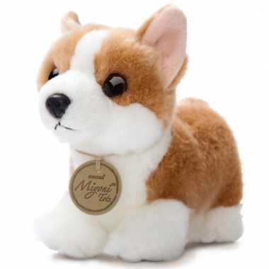 Baby speelgoed corgi honden knuffel