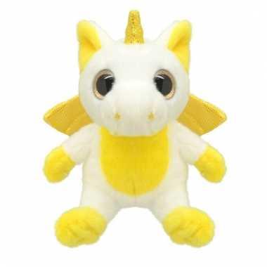 Baby speelgoed eenhoorn knuffel wit