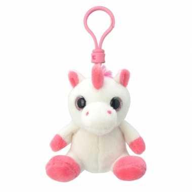 Baby speelgoed eenhoorn sleutelhanger knuffel