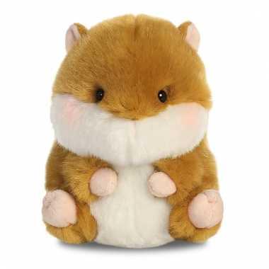 Baby speelgoed hamster knuffel