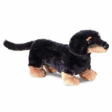 Baby speelgoed honden knuffel teckel