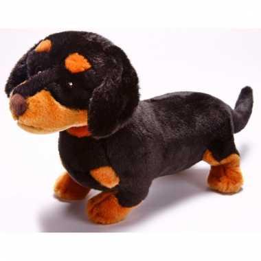 Baby speelgoed honden knuffel teckels