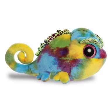 Baby speelgoed kameleon knuffel 10085461