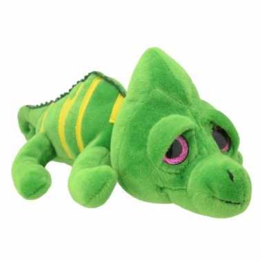 Baby speelgoed kameleon knuffel