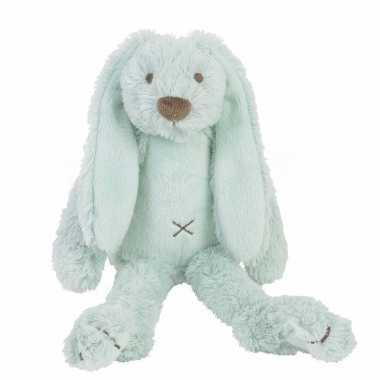 Baby speelgoed konijnen knuffel richie mint