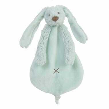 Baby speelgoed konijnen knuffeldoekje richie