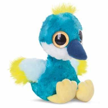 Baby speelgoed kraanvogel knuffel