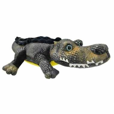 Baby speelgoed krokodil knuffel
