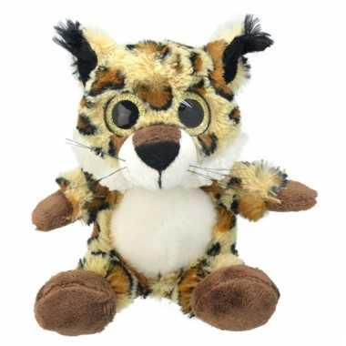 Baby speelgoed lynx knuffel