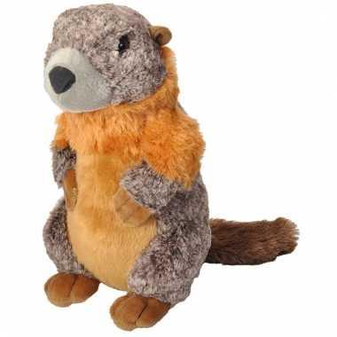 Baby speelgoed marmot knuffel