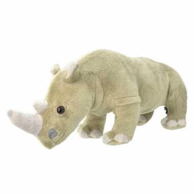 Baby speelgoed neushoorn knuffel