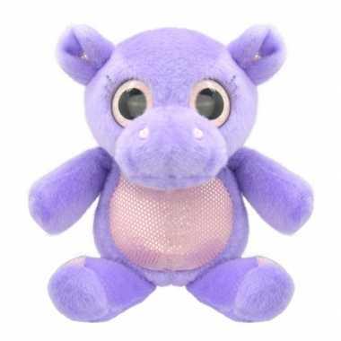 Baby speelgoed nijlpaard knuffel