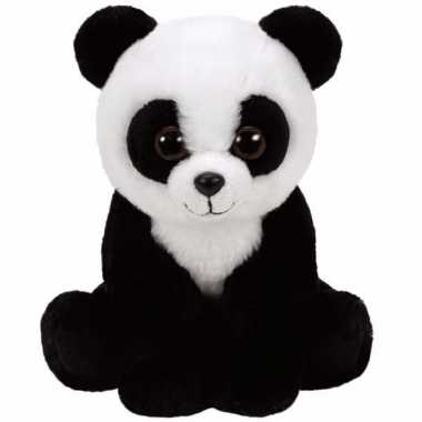 Baby speelgoed pandabeertje knuffel ty classic baboo