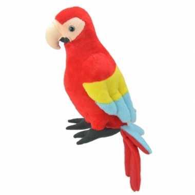 Baby speelgoed papegaai knuffel