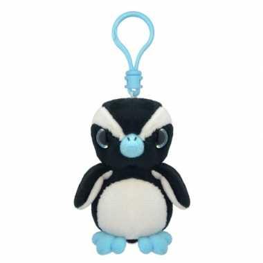 Baby speelgoed pinguin sleutelhanger knuffel