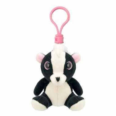 Baby speelgoed stinkdier sleutelhanger knuffel