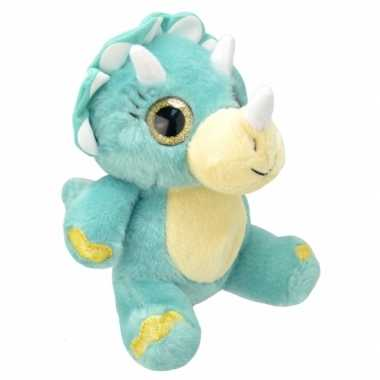 Baby speelgoed triceratops knuffel