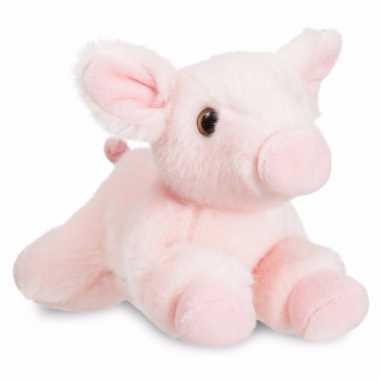 Baby speelgoed varken/big knuffel