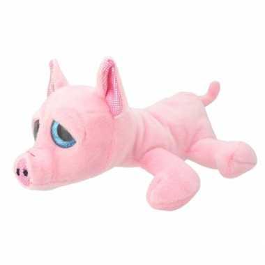 Baby speelgoed varken knuffel