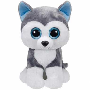Baby ty beanie boo husky knuffels