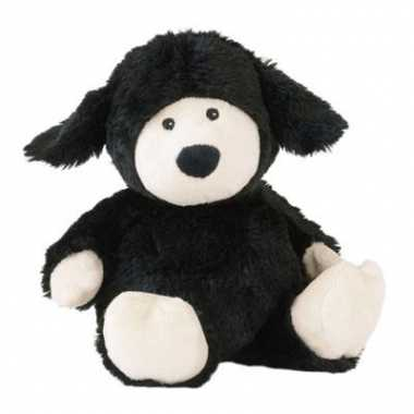 Baby  Warmte knuffel schaap zwart