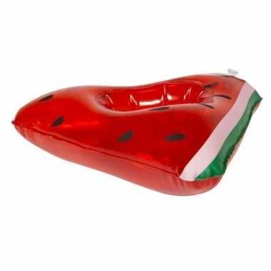 Baby watermeloen opblaas zwemband poppen/knuffels