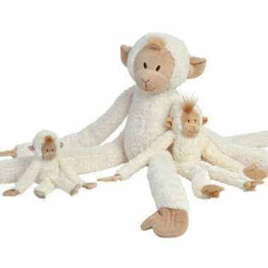Baby  Witte apen knuffel