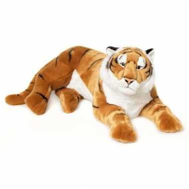 Baby wnf bruine tijger liggend knuffel