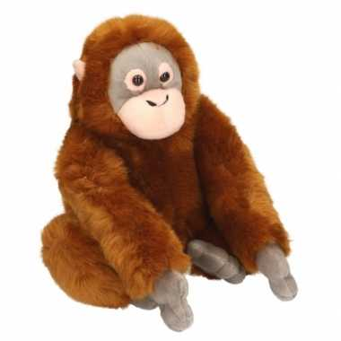 Baby  Zittende pluche aap knuffel