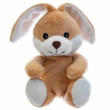 Warm knuffel konijn babyshower kado