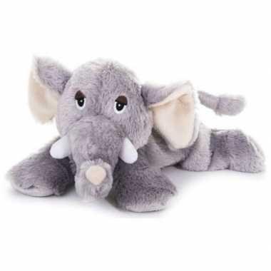 Warm knuffel olifant babyshower kado