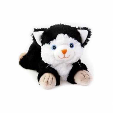 Warm knuffel zwarte kat babyshower kado