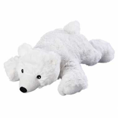 Warmte knuffel ijsbeer babyshower kado