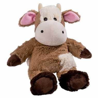 Warmte knuffel koe babyshower kado