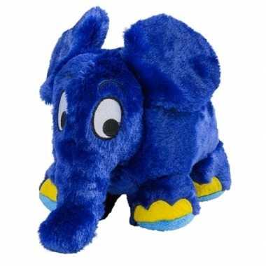 Warmte knuffel olifant babyshower kado