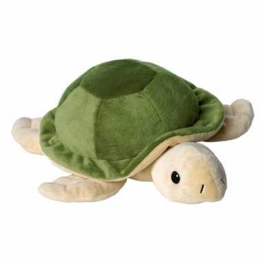 Warmte knuffel schildpad babyshower kado