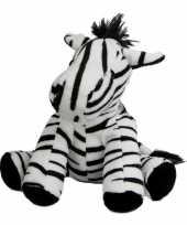 Baby pluche knuffeldier zebra